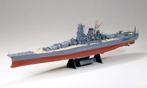 戦艦武蔵が発見された!?(写真はタミヤのプラモデル1/350戦艦シリーズ 「日本海軍戦艦 武蔵」)