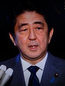 最近、心なしか暗い表情の多くなった安倍首相